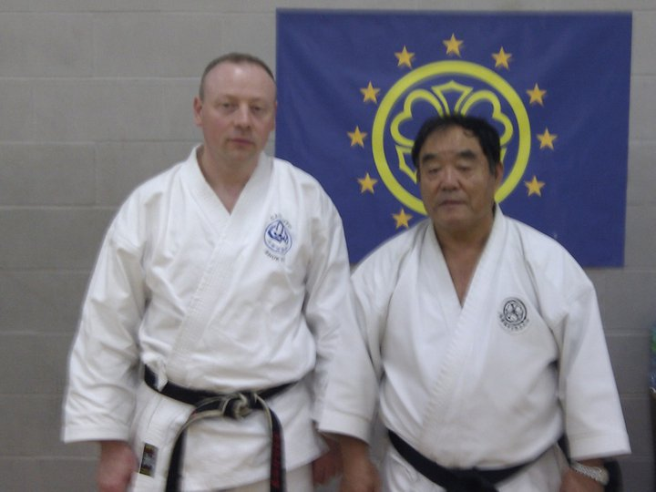 Paul Wareing with Fumio Demura